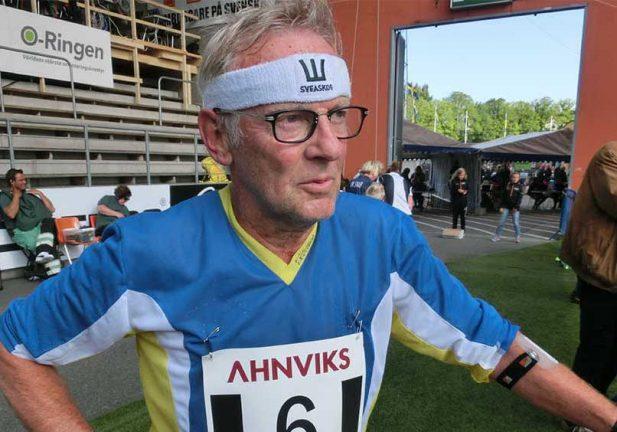 SM-brons för L-Å Claesson