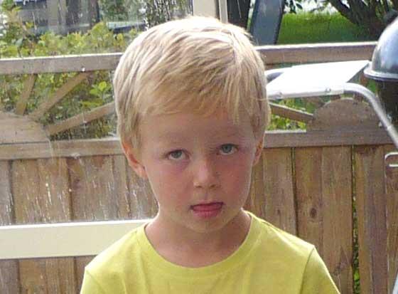 Liam Pettersson 6 år