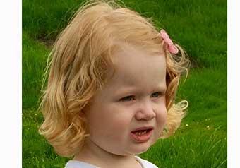 Lilly Svedborg 3 år