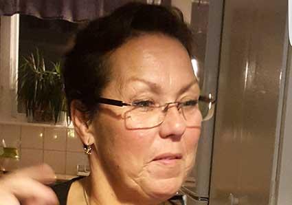 Marika Weiström 58 år