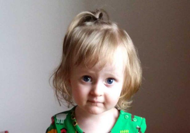 Maya Karlsson 2 år