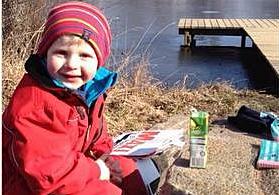 Melker Grönlund 4 år