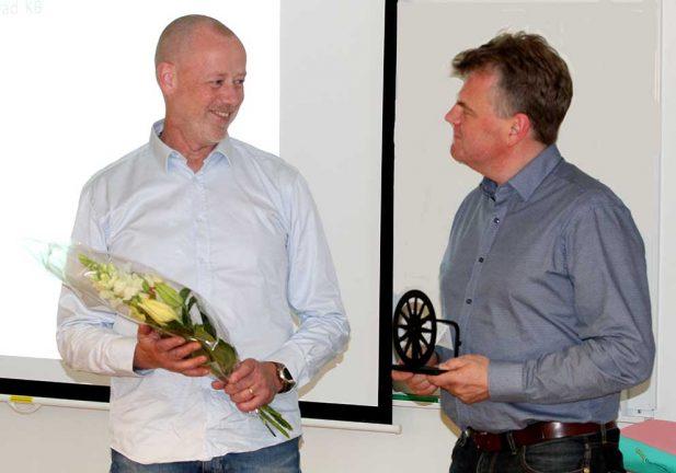 Jonas Hugosson avtackad av Näringslivsrådet