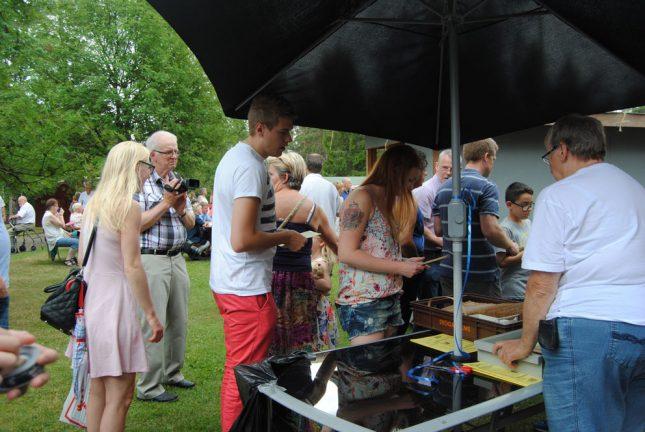Många deltog i Bäckalyckans tipspromenad