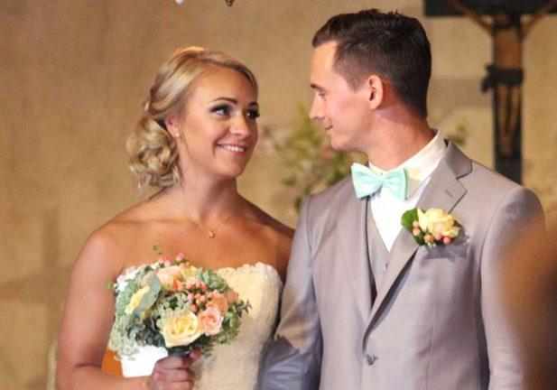 Nygifta – Victoria och Rickard Gynnerstedt