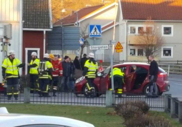 Trafikolycka i Skillingaryd
