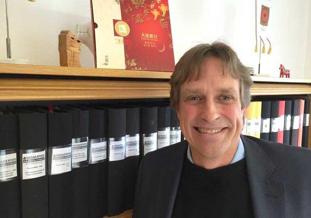 Ny på jobbet – näringslivschef Peter Hugoson