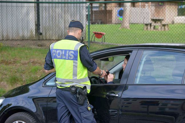 Ökad polisinsats i tätorterna