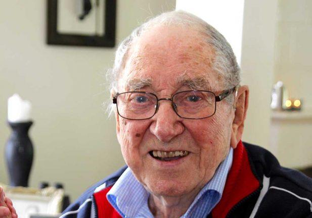 Rolf Lemke 95 år