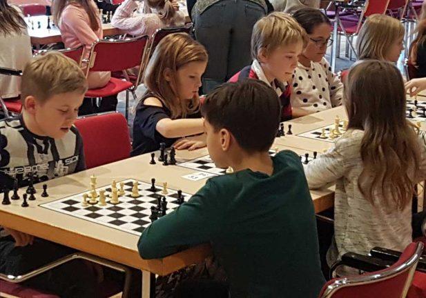 Sörgårdsskolan vann i Schackfyran