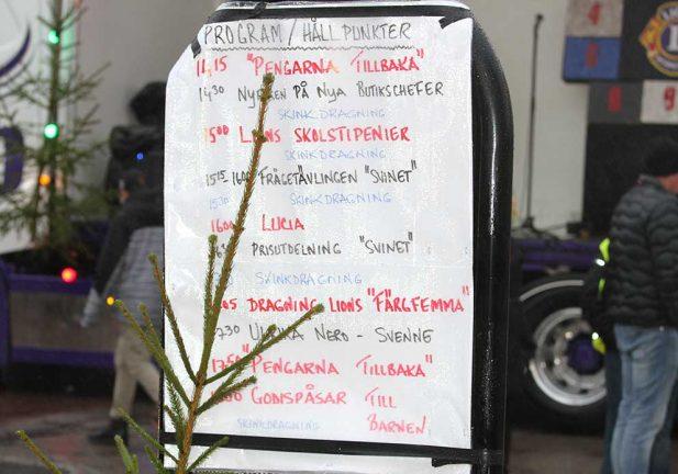 TV: Julskyltning i Vaggeryd