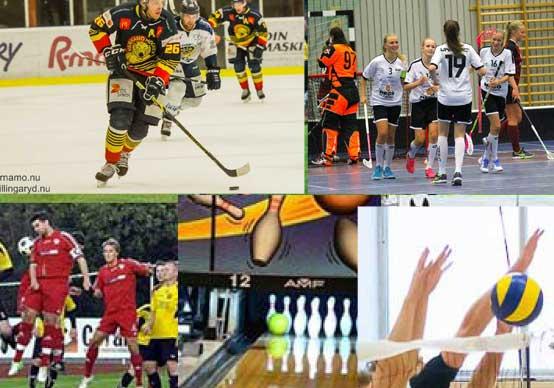 Vi bevakar sport  i helgen…