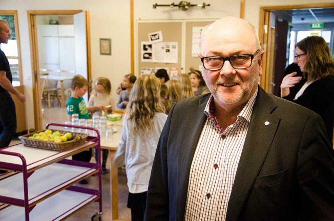 Thomas Strand debatterar skolan