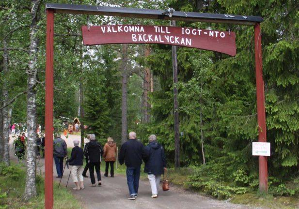 Tord Nahlbom vann på Bäckalyckan