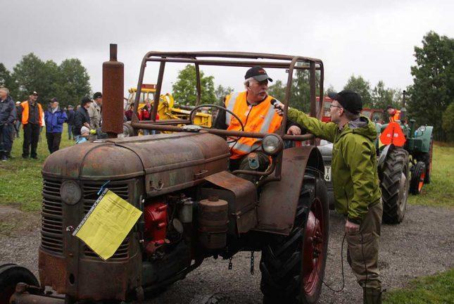 TV: Traktorer, traktorer och lite ostkaka…