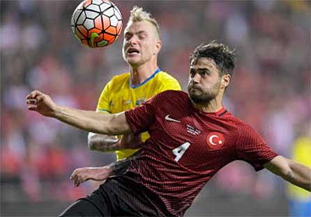 Svensk förlust mot Turkiet