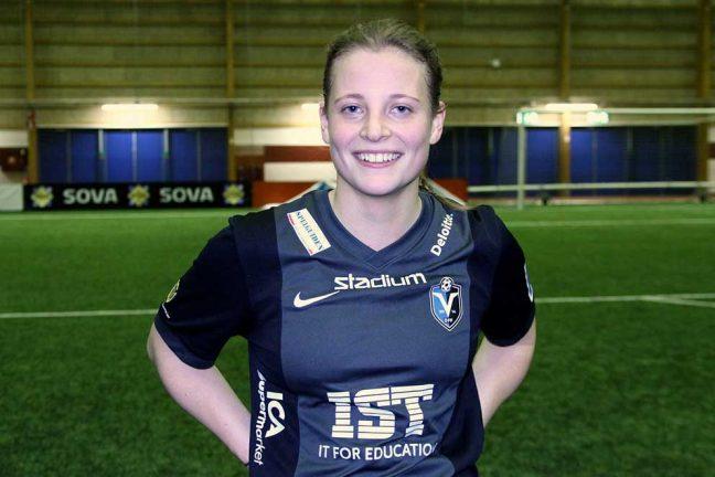 Anna gjorde mål i VM