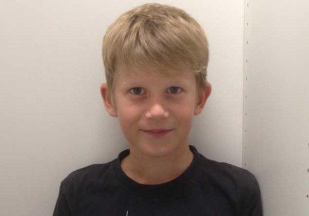 William Robertsson Holm  11 år