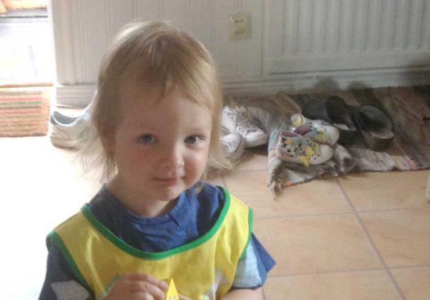 Wilma Petersson 3 år