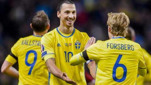 2–1 mot Danmark