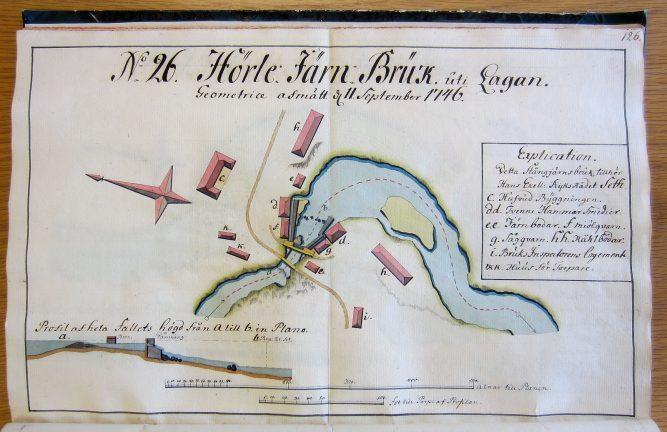 Järnets lokala historia, del 8 – Kartor på järnbruk och kvarnar