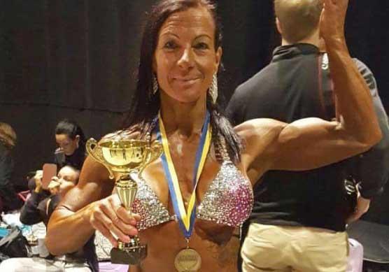 Carina knep brons i Stockholm