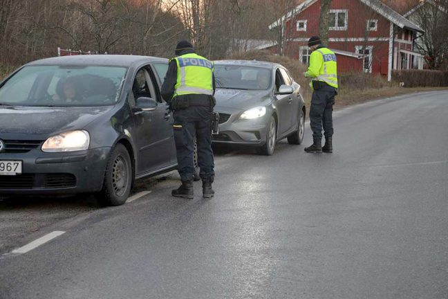 Polisen specialsatsar mot rattfyllerister