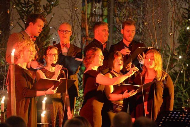 Julkonserter fyllde Tofteryds kyrka