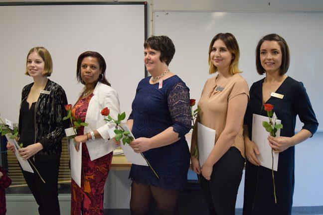 Undersköterskorna tog examen på Fenix