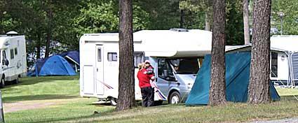 (M) svarar om Hjortsjö camping