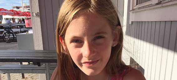 Agnes Melin 11 år