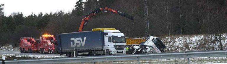 Tredje olyckan vid Klevshult
