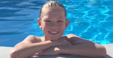 Emil Johansson 14 år