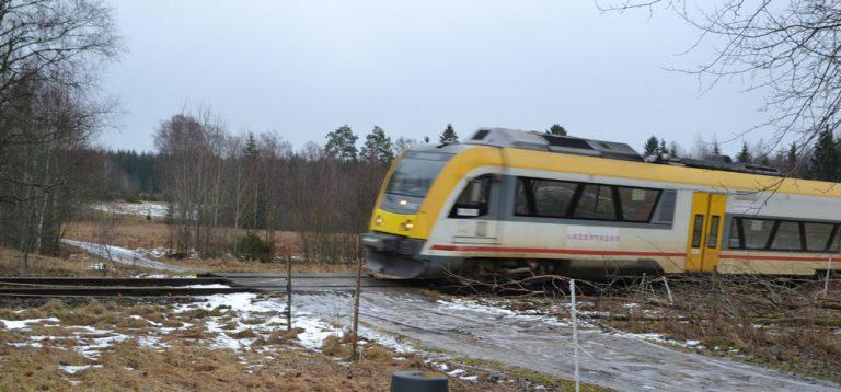 Det finns fler farliga järnvägskorsningar
