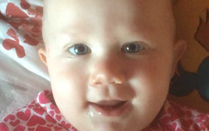 Nora Rosgren 1 år