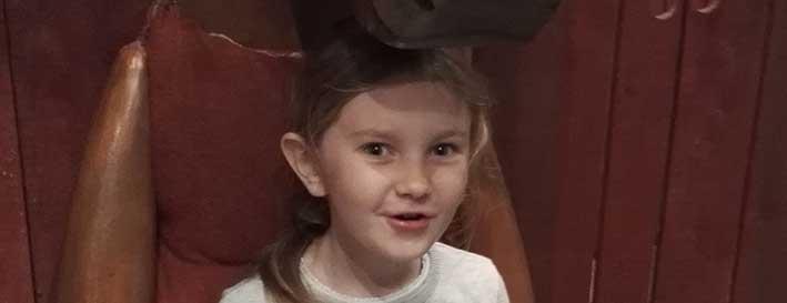Annie Svensson 7 år