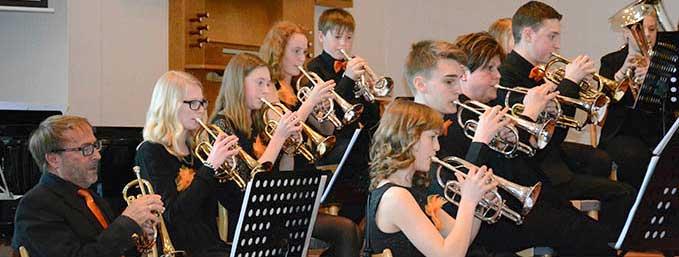 Konsert med Bors Brassband