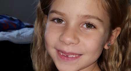 Molly Karlsson 7 år