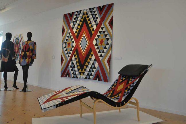 Spännande textilutställning