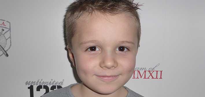 Vilmer Hansson 6 år