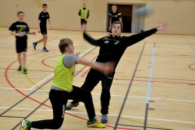 Handbollen är på gång i Värnamo