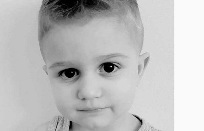 Benjamin Kahrimanovic 3 år