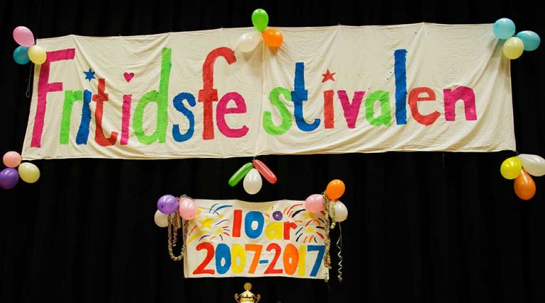 Fritidsfestivalen firade 10 år