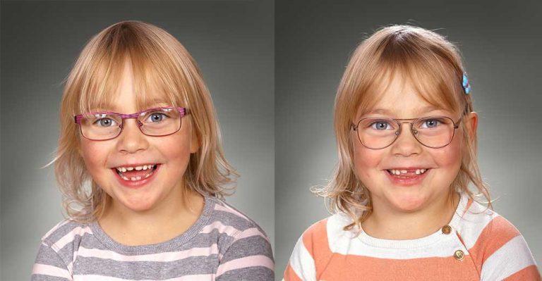 Emma och Tilde 6 år