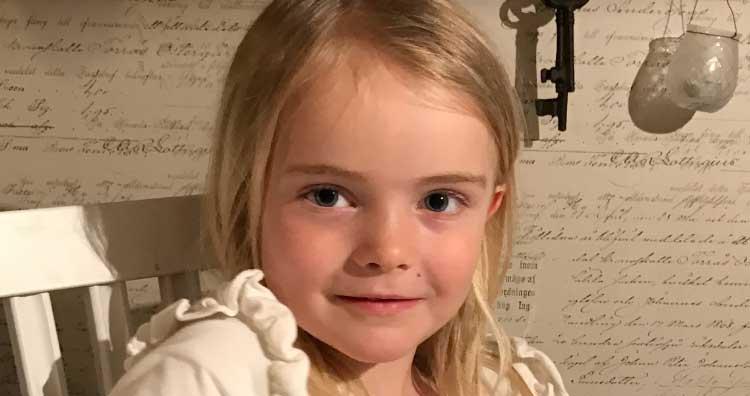 Hilda Sjöstrand 6 år