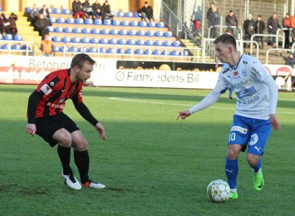 Bilder från IFK-matchen