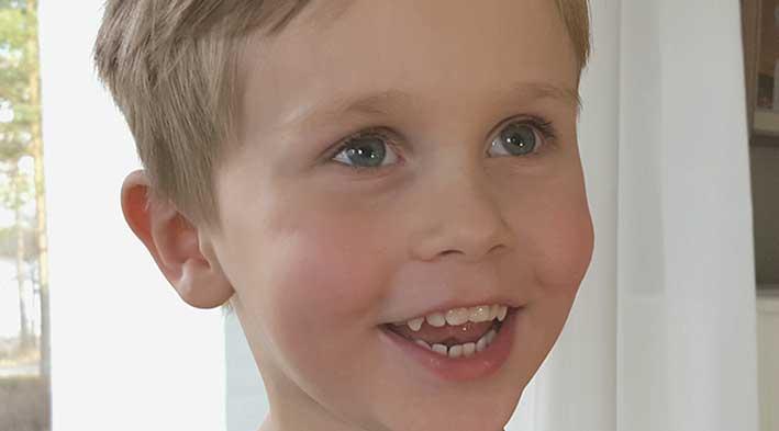 Max Sandin 4 år