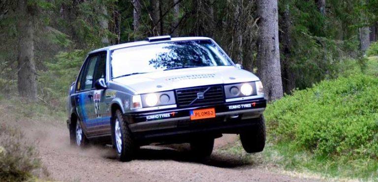Rally körs i Rydaholm