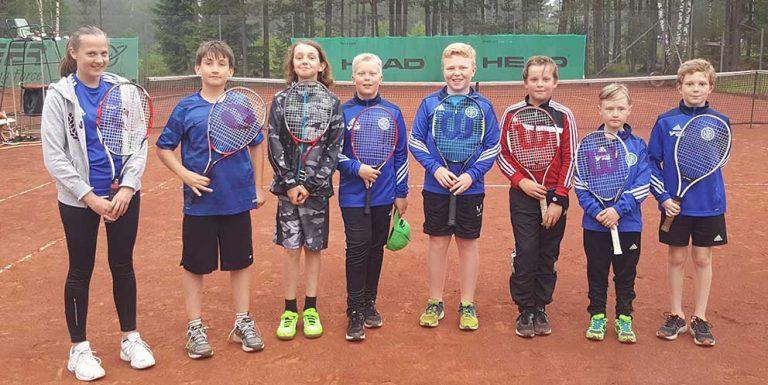 Tennisskola i Vaggeryd