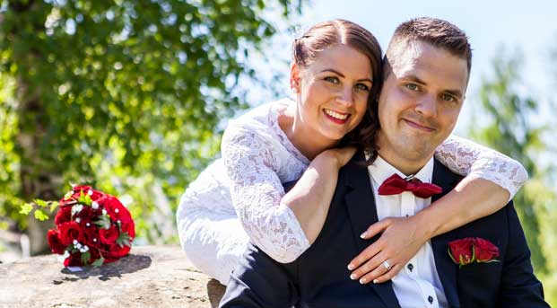 Nygifta: Emma och Erik